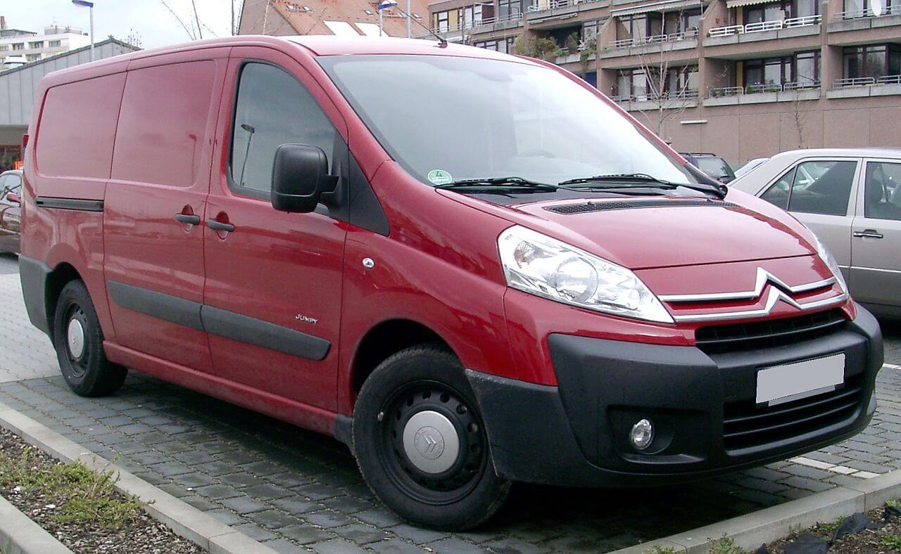 Citroën Jumpy (9-9) - VanDimensions