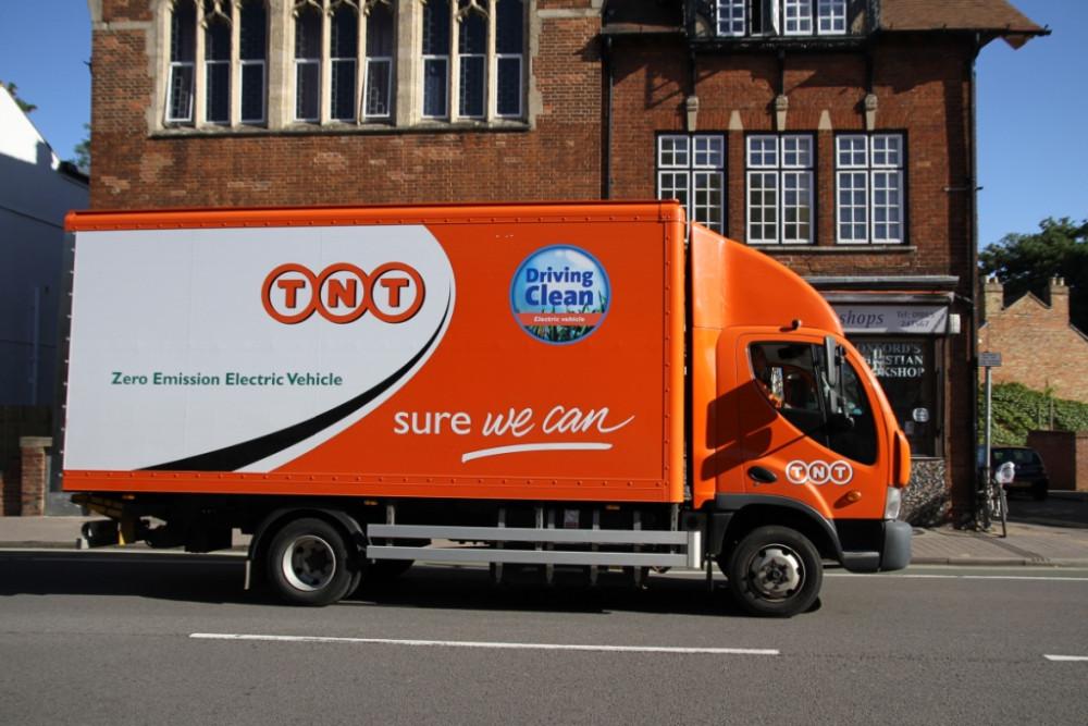 Example of a 7.5 ton box van